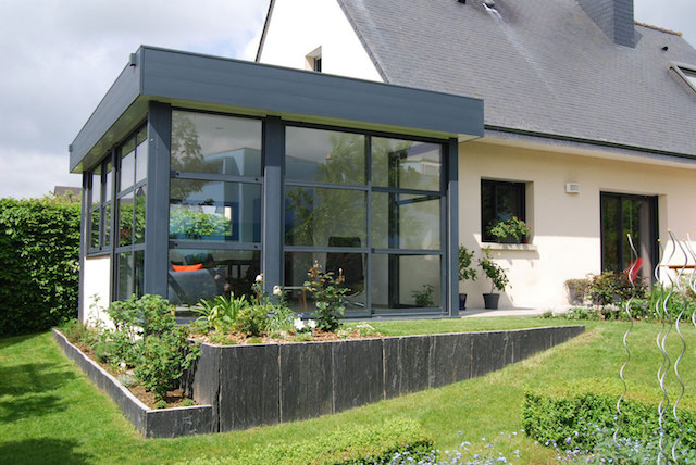 veranda les menuiseries du soleil. Black Bedroom Furniture Sets. Home Design Ideas